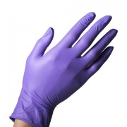 Nitrile handschoenen Purple  Small