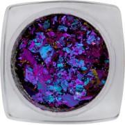 Chameleon flakes Purple