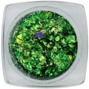Chameleon flakes Green