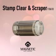 Stamp & Scraper clear