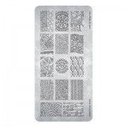 Magnetic Stamping Plate African Vibes