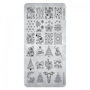 Magnetic Stamping plates Christmas 02