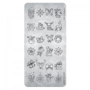 Magnetic Stamping plates Christmas 03